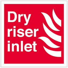 Dry Riser Inlet logo